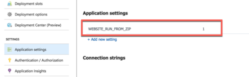 App Service App Settings